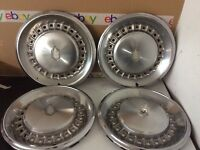 """14"""" 81 82 83 84 85 Chevrolet Monte Carlo 24 holes Hubcaps Wheel Covers SET OF 4"""