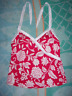 One piece of a Tropical Escape TANKINI swimsuit (TOP ONLY) WOMEN'S SIZE:12