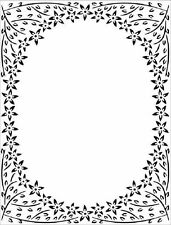 Sue Wilson Embossing Folder - Jasmine Frame - EF-084 - Creative Expressions
