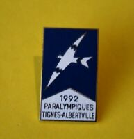 Pin's lapel pin JEUX OLYMPIQUES PARALYMPIQUE TIGNES ALBERTVILLE 92 Olympic games