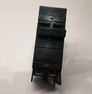 Square D / Cutler Hammer XO 50 Amp 2 Pole Thick XO250 50A 2P Circuit Breaker