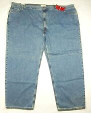 Levi's 550 Relaxed Fit Denim Blue Jeans Men's Size 60 x 32 Blue NWT