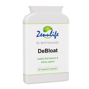DEBLOAT Water Retention Fluid Retention Capsules PMS Relief Bloated Stomach