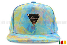 Brand New Hater Snapback Spring Blue Tie Dyed Adjustable Hat Cap