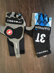 Castelli Aero Gloves Large 3T Garmin Pro Issue Short