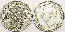 1947 to 1951 George VI Cupro-Nickel Halfcrown Your Choice of Date