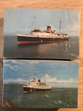 More details for isle of man steam packet co. 200 postcards sealed. snaefell & manx maid. dealers