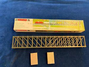 Arnold Spur N Bausatz Fachwerkbrücke Nr.6180