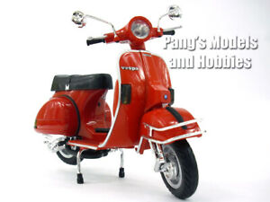 Vespa P200E Red Scooter 1/12 Scale Die-cast Metal Model by NewRay