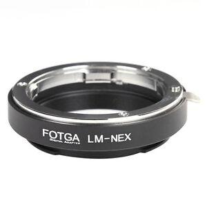FOTGA Leica M Lens to Sony E-Mount Adapter Ring For A7 NEX-5C NEX7 NEX6 NEX-VG10