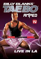 Billy Blanks Tae Bo DVD Cardio Kickboxing - AMPED LIVE IN LA!
