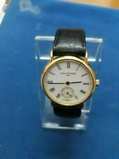 Saint-Honore automatic gold plated watch