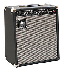 Music Man Guitar combo 50W - 1x12'', 2 canaux + reverb, 2 tubes 6L6