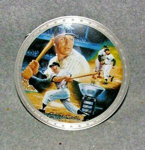 Mickey Mantle The Radford Exchange Metal Hanging Plate New York Yankees