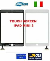 TOUCH SCREEN Vetro iPad Mini 3 A1599 A1600 Connettore IC Bianco