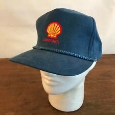 Shell Gas & Oil Lubricants Cotton Snapback Trucker Cap Hat CH19