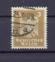 DR 355 Y Freimarke 3 Pfg. liegendes WZ gestempelt geprüft (vs33)