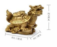 Small water turtle dragon turtle furnishing articles pure copper bronze