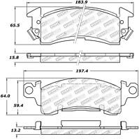 StopTech 309.00520 StopTech Sport Brake Pads