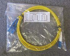 Fibre optique Câble Patch 2 m LC à SC DX 9/125 2.88 mm Jaune Neuf Scellé