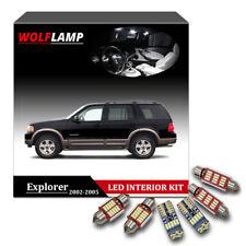 12Pcs Canbus White Package LED Interior Car Lights For 2002-2005 Ford Explorer