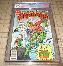 AQUAMAN #61 (May 1978) CGC 9.0 Comic - Kobra & Batman Appearances