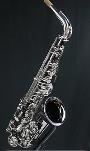 Selmer AS 42B Alto Sax Black Nickel  with Selmer Paris Neck   Last one in stock