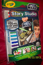 CRAYOLA STORY STUDIO STAR WARS BRAND NEW FACTORY SEALED