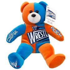 WWE WRESTLEMANIA 28 BEANIE BEAR LIMITED EDITION 1 0F 3500 CENA VS ROCK NEW