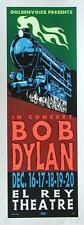 TAZ BOB DYLAN SIGNED NUMBERED LIMITED EDITION LOWBROW SILKSCREEN CONCERT POSTER