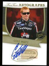 2012 Press Pass Fanfare  AUTO/Autograph COLE WHITT #ed 25/99