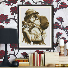 DIY Embroidery First Kiss Painting Cross Stitch Needlework Kits Home Decor