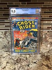 Marvel Spotlight #6 CGC 9.0 White Pages 2nd Ghost Rider Johnny Blaze Bronze Age
