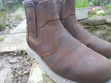 Amblers Safety Work Dealer Boots Chocolate Size 7
