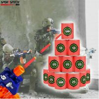 12pcs Nerf Foam Foam target can Guns Cans Games for Nerf target can Soft