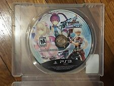Ar Tonelico Qoga: Knell of Ar Ciel (Sony PlayStation 3, 2011) Disc & Case