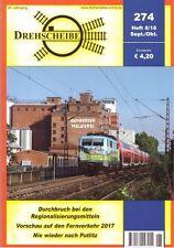 Drehscheibe Sep / Oct 2016, Issue 274 DB Deutsche Bahn