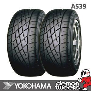 2 x 185/60/13 80H Yokohama A539 Performance Car Tyres 1856013