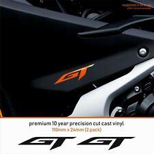 KTM SUPERDUKE GT 1290 10 Year Cast Vinyl Decals Stickers x 2-Premium Quality