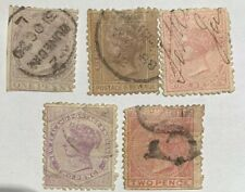 1882 New Zealand Used Stamps ( Pence) Lot Of 5