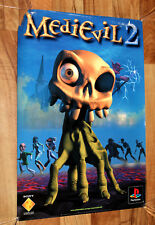 MediEvil 2 Old Vintage Promo Poster Playstation1 PS1 Very Rare 59x42cm 2000
