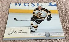 2006-07 Be a Player Glen Murray Signature Portraits 8x10 Boston Bruins