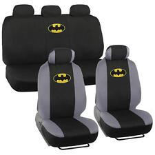 Official Batman Seat Covers For Car & SUV - Front & Rear Full Set Original Logo