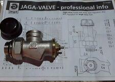 paire Thermostatique noir coin valve set pour radiateurs /& porte-serviettes TRV