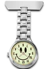 Sekonda  Luminous Dial Smiley Face Nurses novelty Fob Watch 4363 RRP £34.99