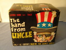 Vintage The Hand From Uncle Savings Bank With Trick