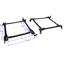 MEGAN RECLINABLE SEAT BRACKETS FOR 89-98 NISSAN 240SX S13 S14 R32 R33 SKYLINE