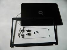 """HP Presario CQ57 15.6"""" Genuine LCD Back Cover BEZEL Hinges ASSEMBLY 646113-001"""