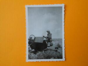 Foto An der 2 cm. Flak, Tropenhelm, Afrikakorps, Rommel, Heer