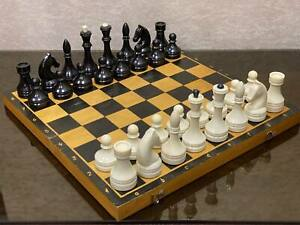 1960s made! Nice Vintage Big Soviet Chess USSR